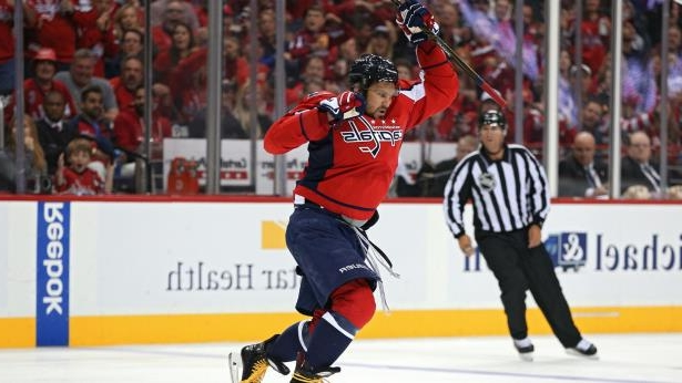 20e0596b365 Sport  Watch  Alex Ovechkin grabs third-period hat trick - PressFrom ...