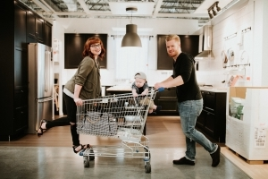 This Ikea-Themed Family Photo Shoot Is Adorable