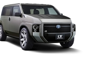 Toyota Tj Cruiser Concept Is Half Van, Half SUV, All Awesome