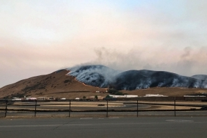 Sonoma Raceway not at 'immediate risk' as wildfire rages nearby