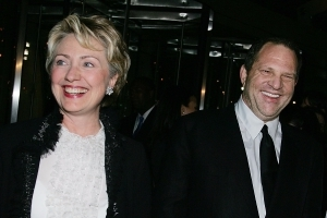 Here's how much the Clintons and Obama received from Harvey Weinstein