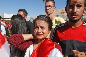Tears in Damascus as Syria misses shot at World Cup
