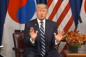 Trump may visit demilitarized zone in South Korea to send a 'significant message'