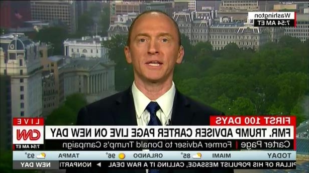 Carter Page refuses to testify before Senate Intel: report