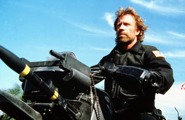 Slide 15 of 28: The Delta Force - 1986 Chuck Norris