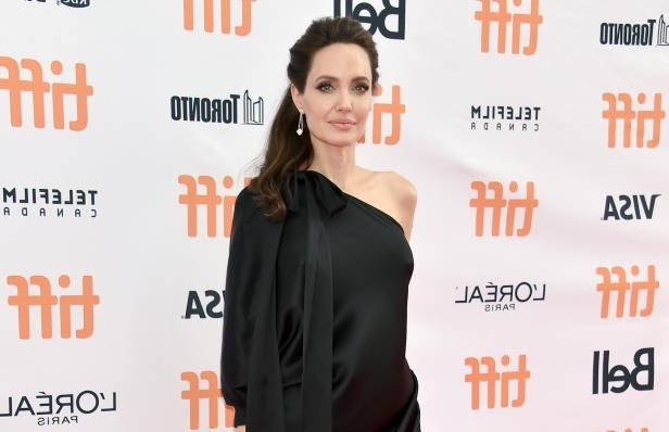 Slide 4 of 34: Angelina Jolie attends the 'First They Killed My Father' premiere during the 2017 Toronto International Film Festival at Princess of Wales Theatre on September 11, 2017 in Toronto, Canada.