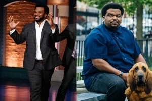 Actor Craig Robinson dropped 50 pounds by cutting booze and going vegan