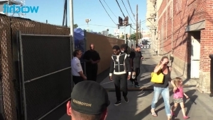 Gucci Mane outside Jimmy Kimmel Live in Hollywood