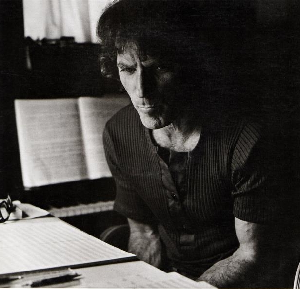 Slide 130 of 148: Photo of David AXELROD; Portrait sitting at a piano