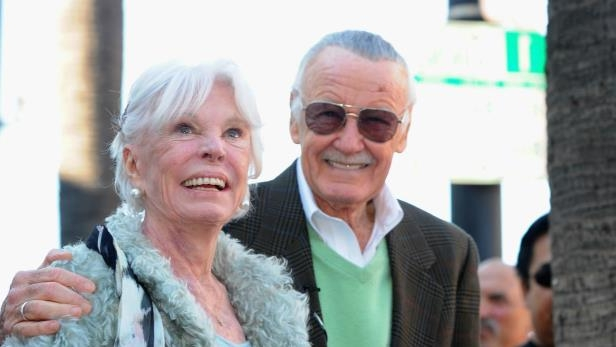 Slide 66 of 148: Stan and Joan Lee - Getty - H 2017