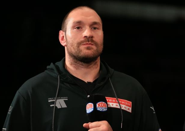 Tyson Fury says he will be back in April: Tyson Fury File Photo