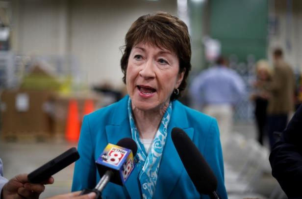 Sen. Susan Collins of Maine is one of a handful of GOP centrists.