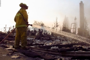 California fires: Deputies braved flames to evacuate residents
