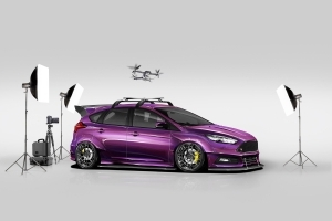 Ford builds four wild Focus SEMA concepts