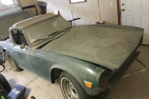 At $1,800, Could This 1969 Triumph TR6 Project Be The Perfect Cure For Cabin Fever This Winter?