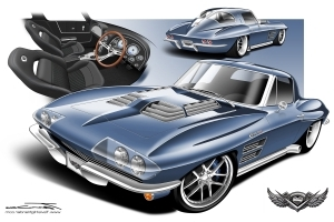 There was a time when a split-window 1963 Corvette was the least desirable