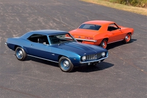 Mecum Set to Auction Two Beautifully Restored 1969 Camaro ZL1s