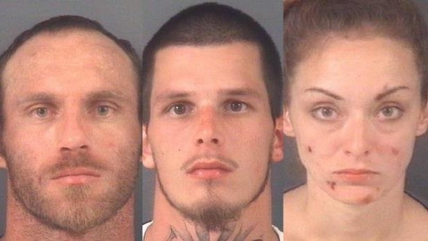 Crime: 'Mobile meth lab' in North Carolina results in three