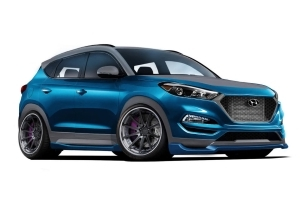 Vaccar makes sportier Hyundai Tucson Sport for SEMA