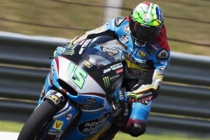 Luthi out of Sepang race, Morbidelli crowned Moto2 world champion