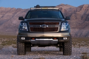 Country Star Luke Byran Tricks Out Chevrolet Suburban Concept for SEMA