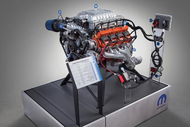 News: Dodge Will Now Sell You a Hellcat Crate Engine