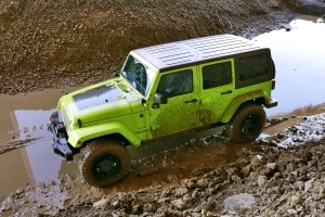"Urban ""Exploration"" in a Mopar-Modified Jeep Wrangler"