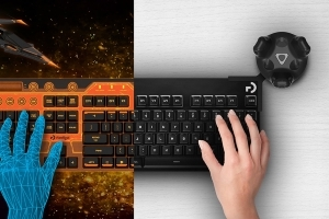 Logitech and HTC Vive bring keyboards into VR