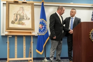Stolen Rockwell painting fetches more than $900K at auction