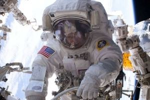 Astronauts who take long trips to space return with brains that have floated to the top of their skulls