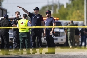 On the anniversary of the Fort Hood rampage, another mass shooting just miles away