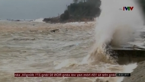 water next to the ocean: Typhoon Damrey makes deadly landfall in Vietnam