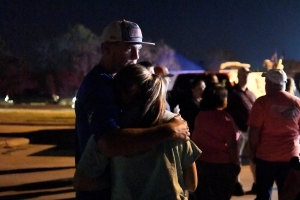 'Why here?' ask residents of small Texas town after massacre