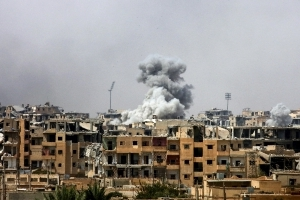 Coalition air strikes decline sharply in Syria and Iraq: general