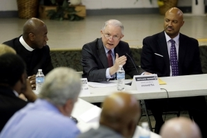 Sessions says Justice panel will fight neighborhood crime
