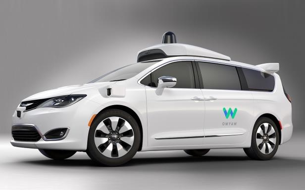 Slide 10 of 11: Waymo / Chrysler Pacifica Autonomous Vehicle