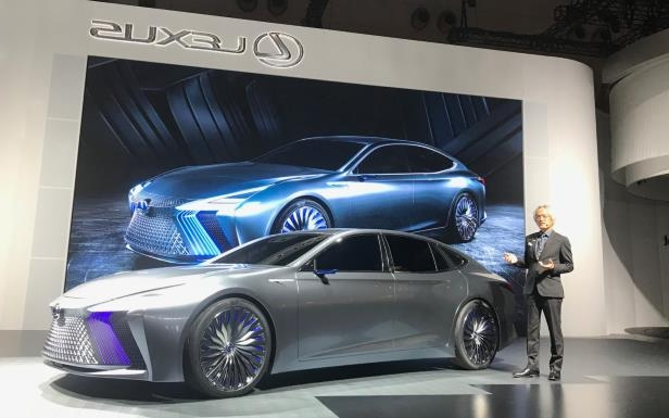 Slide 2 of 11: Lexus LS+ concept