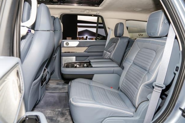 Slide 66 of 84: 2018-Lincoln-Navigator-rear-interior-seats-1.jpg