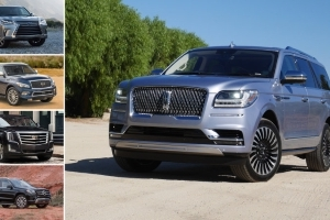 2018 Lincoln Navigator vs luxury SUV rivals: How it compares on paper