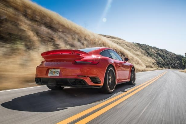 Porsche 911 Turbo S: 3rd Place - 2017 Motor Trend Best Driver's Car