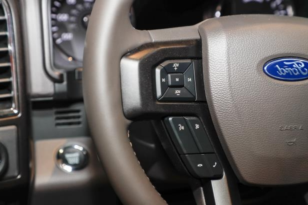 Slide 39 of 61: 2018-Ford-Expedition-Limited-steering-wheel-controls.jpg