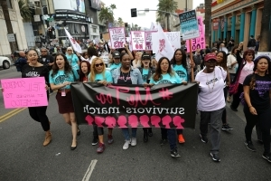 #MeToo movement hits the streets in Hollywood