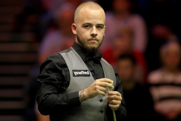 A clothing emergency did not stop Luca Brecel winning his opening match at the Shanghai Masters: Betway UK Championships - Day Nine - York Barbican