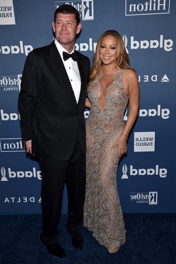 Folie 10 von 20: Mariah Carey und James Packer bei den GLAAD Media Awards