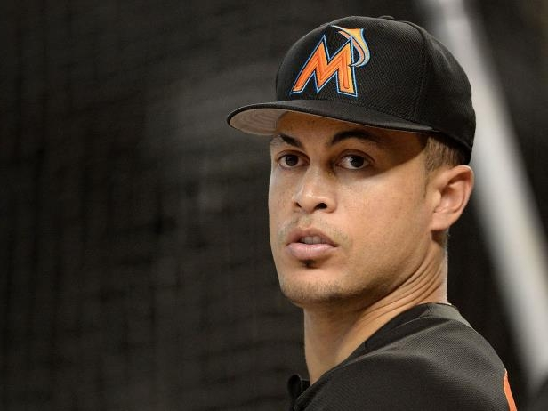 Giancarlo Stanton wearing a baseball hat: If Giancarlo Stanton is going to be on the move this offseason, it appears two of the previously rumored landing spots for the slugger have been crossed off his list.