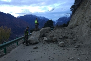Strong predawn earthquake jolts Tibet; no casualties