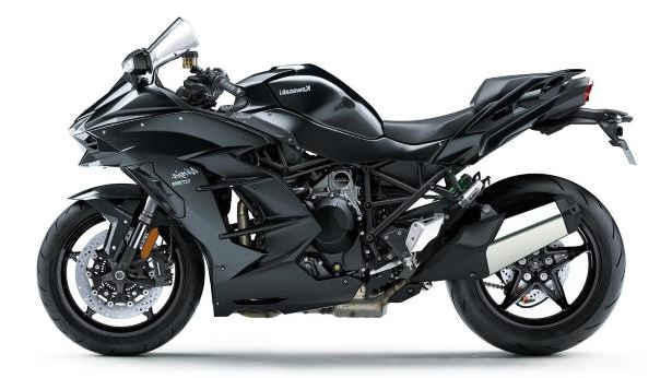 The 2018 Kawasaki Ninja H2 SX is a 201-horsepower supercharged cruiser