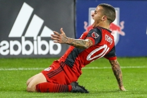 Reds' Sebastian Giovinco raring to go after 23 days between games