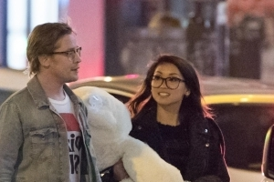 Macaulay Culkin Treats Girlfriend Brenda Song to Paris Shopping Spree