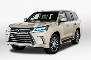 Rows Come and Go: Lexus Will Offer a Five-Seat Version of the LX570